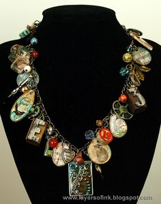 Layers of ink - Family Locket Idea-ology Necklace