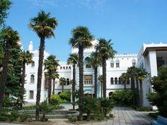 Dulber is a palace in Koreiz, near Yalta. Crimea| Ukraine.