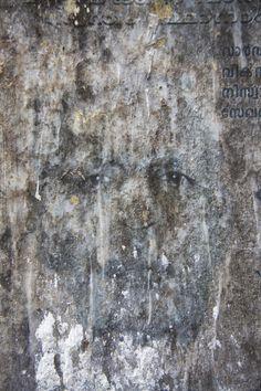 "Saatchi Art Artist: Ian Hoskin; Digital 2013 Photography ""Face_3332.jpg From the series Defaced."""