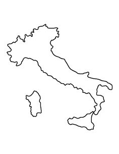 Map Of Italy Outline.Italy Outline Stuff For Work Pinterest Italy Map Italy And