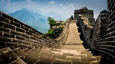 Slope to Great Wall by Husain H. Alfraid
