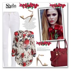 """""""SheIn"""" by amra-mak ❤ liked on Polyvore featuring Calvin Klein, women's clothing, women, female, woman, misses, juniors and shein"""