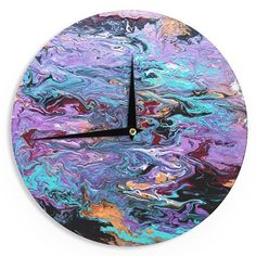 """East Urban Home Claire Day 'Lola' 12"""" Wall Clock"""