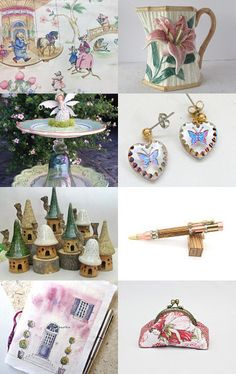 Fairy Garden. by livingavntglife on Etsy--Pinned with TreasuryPin.com