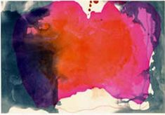 Some of her work makes me breathless. Helen Frankenthaler - Causeway
