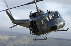 Flew in an Iroquois Helicopter from No 3 Squadron, RNZAF Base Ohakea, New Zealand