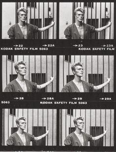 David Bowie by Helmut Newton, 1983.
