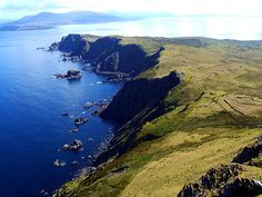Clare Island, Ireland. Over 2 years ago I stood in the exact same spot. I would love to go back again.