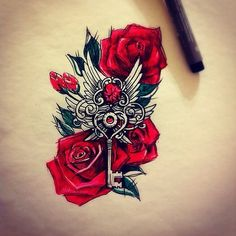 Библиотека эскизов для татуировок Mommy Tattoos, Dope Tattoos, Badass Tattoos, Pretty Tattoos, Beautiful Tattoos, Body Art Tattoos, Sleeve Tattoos, Tatoos, 3d Flower Tattoos