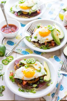 Super Easy Breakfast Tostadas