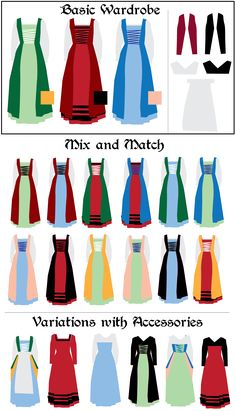 More Thoughts on the Flemish Gown: Colors and Variations