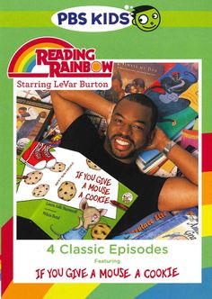 The beloved children's series hosted by LeVar Burton has been a learning icon that school kids across America have viewed for over thirty years. This special collection of four READING RAINBOW episode