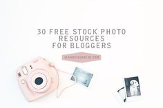 Sometimes not all of us bloggers can take our own photographs, and that's exactly why stock photo websites exist! There are paid sites which allow you to purchase the image you need at a particular size, as well as free sources that allow you to use their photos for personal and commercial projects. blogging tips ideas #blogging #resources