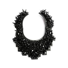 OOOK - Heaven - Accessories 2012 Spring-Summer - LOOK 51 ❤ liked on Polyvore featuring jewelry, necklaces, accessories, black and summer necklace