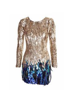 Matthew Williamson 2870€ dress available on matthewwilliamson.com