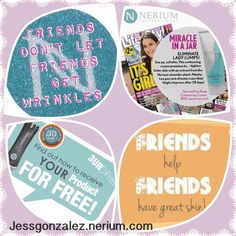 Share with friends and start getting yours for free! http://nerium.com/join/jessgonzalez