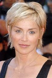 Sharon Stone Hairstyles