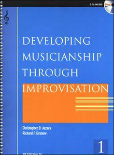 Jamey Aebersold Jazz: Developing Musicianship Through Improvisation Book 1 - Bass Clef Instruments