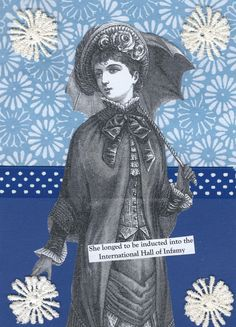 Instant Download Blue Collage Art for Infamous People - Funny Quirky Home Decor Wall Art - pinned by pin4etsy.com