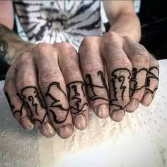 45f5d7da569ec How much does a knuckle tattoo hurt? We have knuckle tattoo ideas, designs,  pain placement, and we have costs and prices of the tattoo.