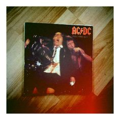 Weekend #vinyl haul (4/4): AC/DC - If You want Blood You've Got It #bonscott #wholelottarosie #problemchild #highvoltage #letthereberock
