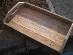 Pallet Tray From Rustic Wood Picture Rustic Pallet Tray Wood You ...
