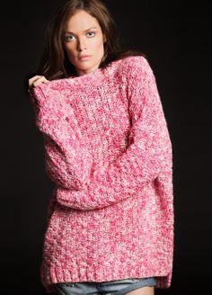 #twistedmuse #thinkpink #merino #sweater #knitwear #ss14 #spring www.alceshop.com