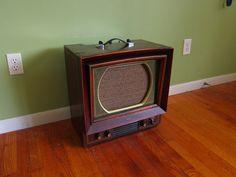 Vintage television guitar amp