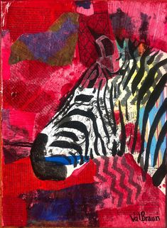 zebra This family of animals were created due to my personal love of Thai elephants emotional ties to the joy they give me. This group of animal friends are; the zebra - strong in Finished edged canvas, mixed media- each sold separately Elephants, Giraffe, Thai Elephant, Paper Tags, Zebras, Mixed Media Art, Ties, Give It To Me, Strong