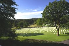 The Lorraine American Cemetery and Memorial in France covers acres and contains the largest number of graves of our military dead of World War II in Europe, a total of Lorraine, Veterans Day Usa, American Cemetery, Us Military, World War Ii, Saint, Acre, Places Ive Been