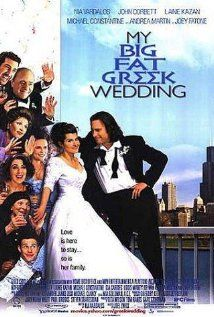 My Big Fat Greek Wedding is a surprising hit romantic comedy for one hit wonder Nia Vardalos, who also wrote the story. I thought the stereotyping of a Greek family was dead on and this film had similar quality to another ethnic romantic comedy, Bride and Prejudice. The movie made me laugh and as a first generation immigrant, I identified with Vardalos' character. A funny movie.