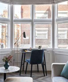 An Edwardian apartment in London with a Parisian feel   Homes & Gardens London Apartment Interior, Parisian Apartment, Apartment Living, French Apartment, Dream Apartment, Oak Parquet Flooring, Luxury Apartments, Apartments In London, Furnished Apartments