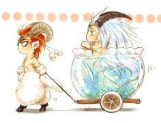 Aries & Capricorn