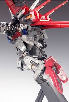 - Painted Build Modeled by RedBrick Strike Gundam, Gundam Seed, Frame Arms, Gundam Model, 30th Anniversary, Mobile Suit, Building, Robots, Diorama