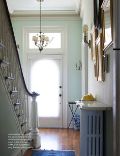 Photo. Looks like a marble topping over painted radiator. Good idea for adding design to the challenges of incorporating radiators into interiors!