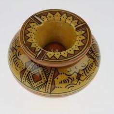 Cendrier marocain jaune
