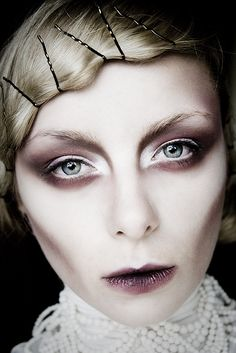 All time favourite from Diana Ionescu's makeup portofolio. night of the living dead