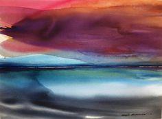Marja Koskiniemi, Colour Play of Sky on ArtStack #marja-koskiniemi #art