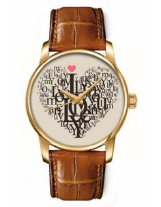 OFIT Casual Analog Wrist Watch with Happy Valentine'S Day for Ladies and Girls null.