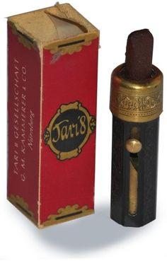 1920's lipstick.