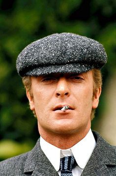 Michael Caine, 1965. I could never pull this hat off Michael Caine can though.
