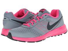 Nike Air Relentless 4 Dark Magnet Grey/Action Red/Hyper Punch/Metallic Platinum - Zappos.com Free Shipping BOTH Ways