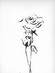 Roses drawings with hearts in pencil dating