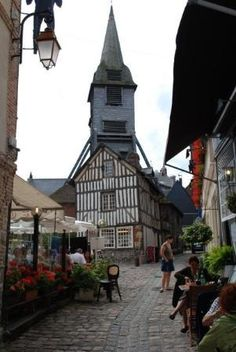St. Catherine's Church, Honfleur, France.  Beautiful outside as well as inside. 15th Century Wooden Church. Amazing it is still here.