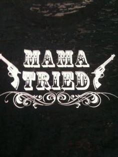 Rock 'n Roll Cowgirl Mama Tried burnout by emeraldlanegifts, $28.00
