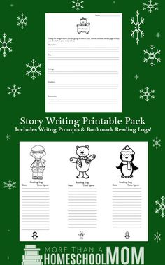 Story Writing Printable Pack