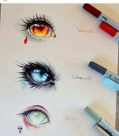 The post appeared first on Frisuren Tips - People Drawing Cool Art Drawings, Art Drawings Sketches, Beautiful Drawings, Sketches Of Eyes, Drawings Of Eyes, Cool Drawings Tumblr, Amazing Drawings, Pencil Drawings, Realistic Eye Drawing