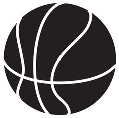 Basketball Clip Art Black And White | Clipart Panda - Free Clipart ...