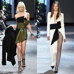 Runway Fall 2016 Alexandre Vauthier.  #AlexandreVauthier #DLTD_SCENES #Magazine #fashion #runway #fall2016