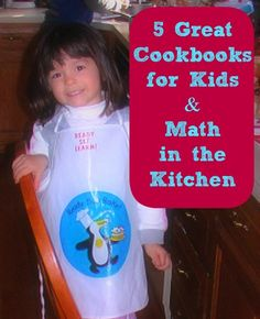 Cookbooks are a fun way to practice reading -- ask kids to read the ingredients or directions while you bake together.  Here's a list of some great kid-friendly cookbooks that also include writing areas (food games, menu planning, etc)!
